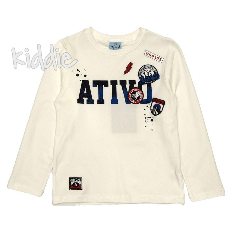 Детска блуза за момче Ativo с емблеми
