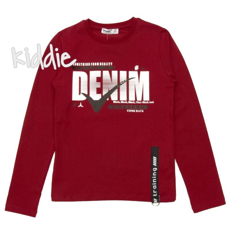 Детска блуза за момче Wanex Denim