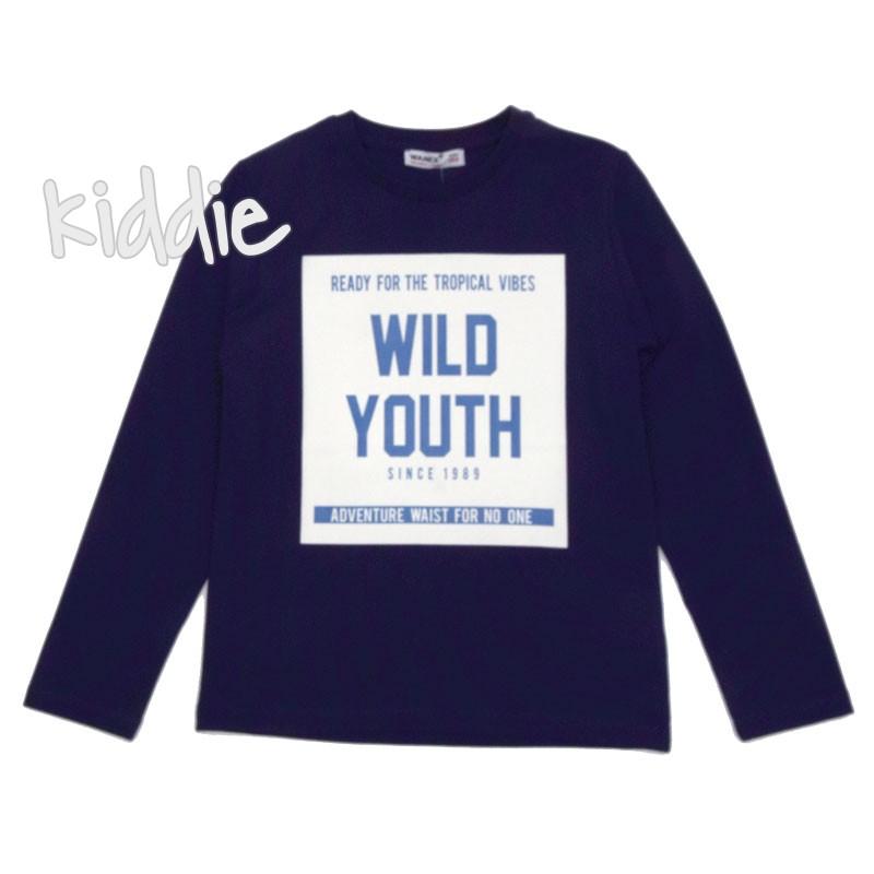 Детска блуза Wanex Wild Youth за момче