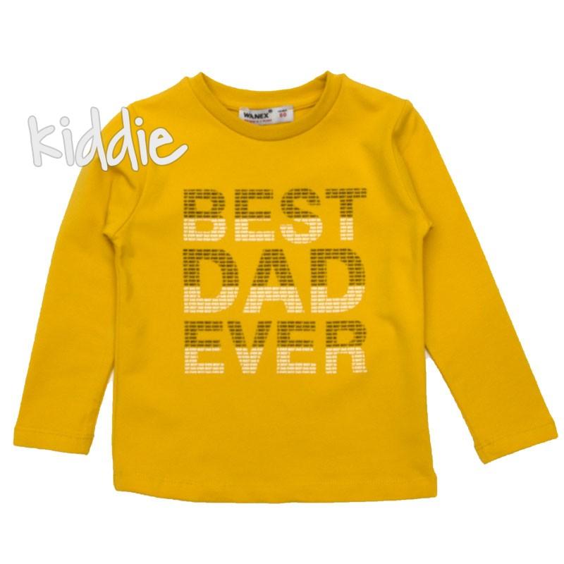 Детска блуза Best Dad Ever Wanex за момче