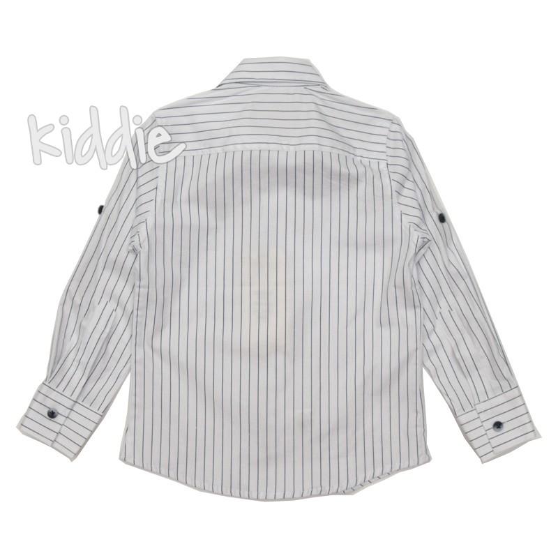 Детска райрана риза Breeze за момче с папионка