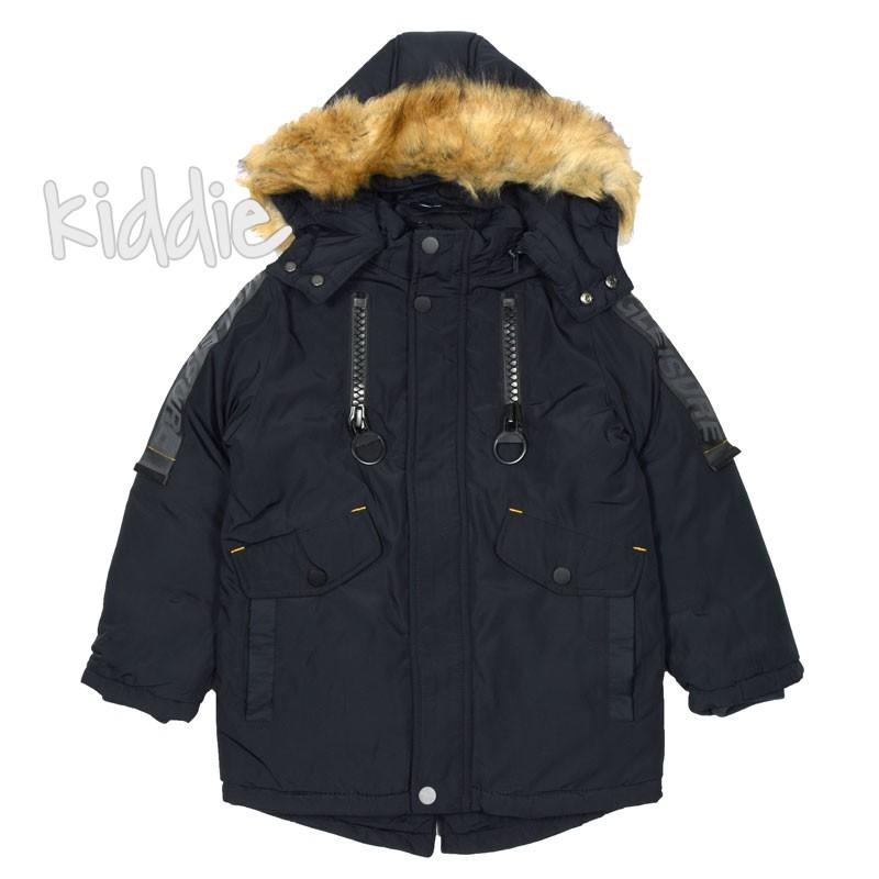 Детско зимно яке за момче Ativo с големи ципове
