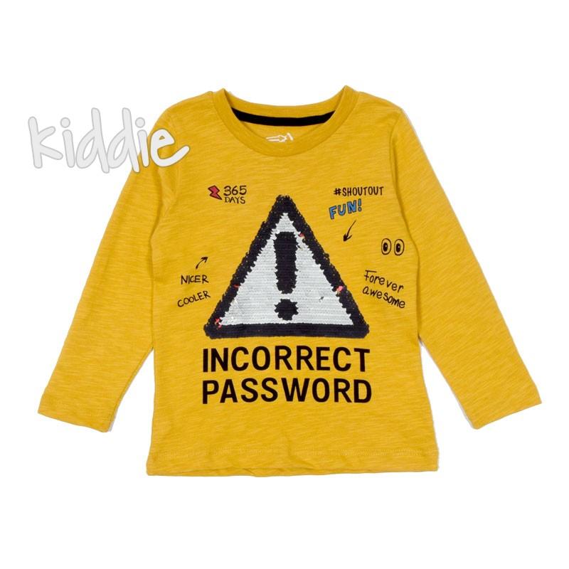 Детска блуза с пайети Divonette за момиче