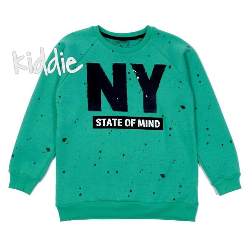 Детска ватирана блуза NY Divonette с пайети