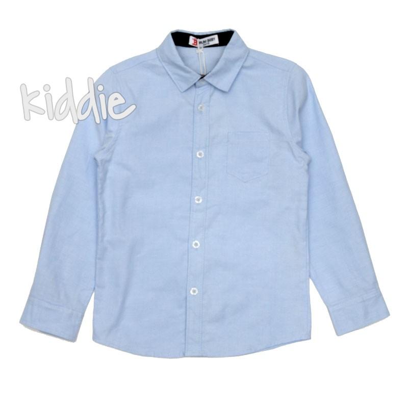 Детска риза Brum Baby за момче с джоб