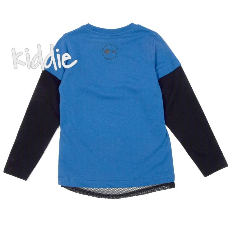 Детска блуза с мрежа за момче