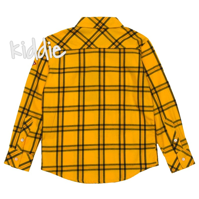 Детска риза за момче Ativo в каре