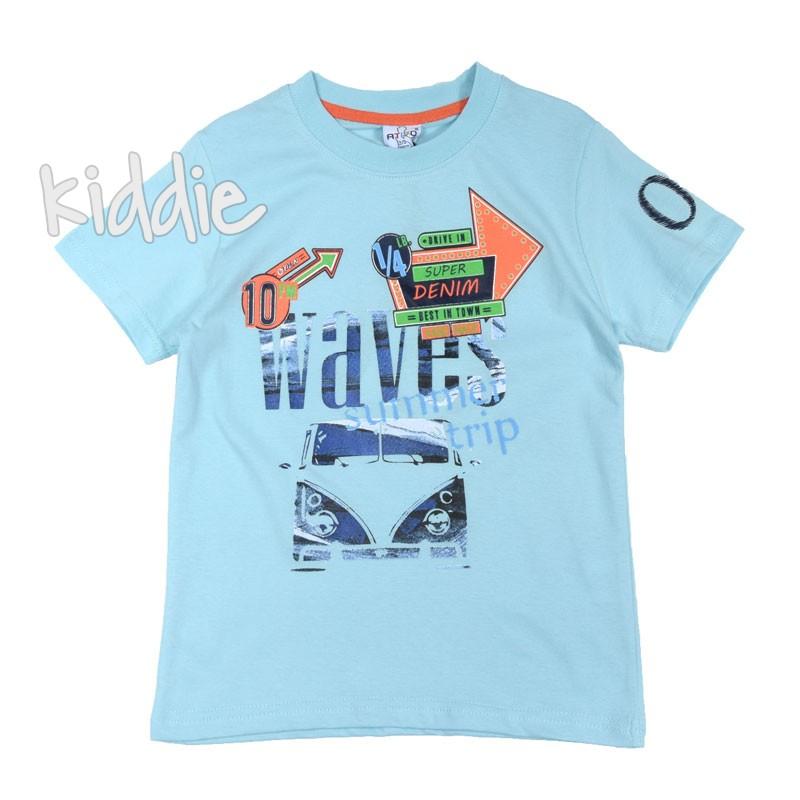 Детска тениска за момче Ativo Waves