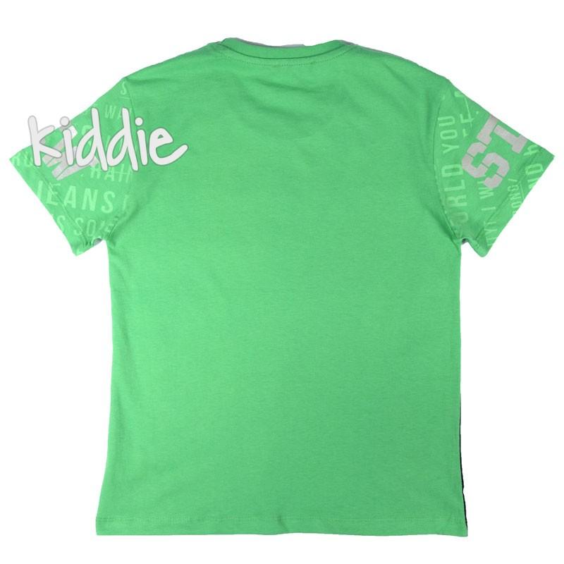 Детска тениска Never Give Up Breeze за момче