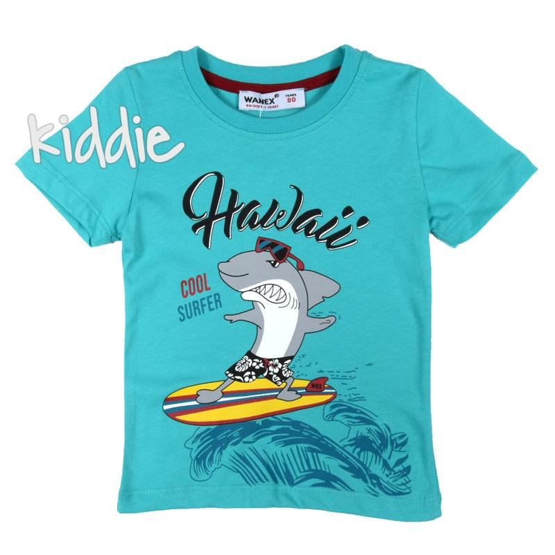 Детска тениска Wanex с акула за момче