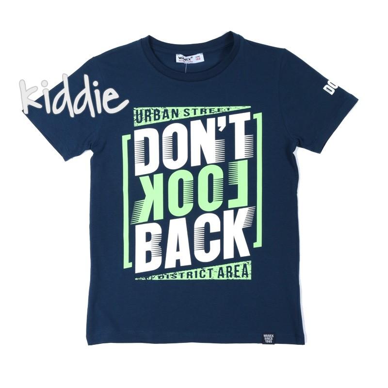 Детска тениска Dont Look back Wanex за момче
