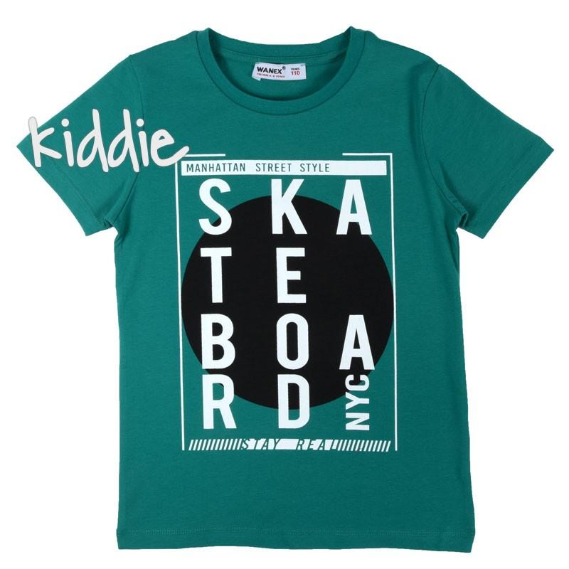 Детска тениска за момче Skateboard, Wanex