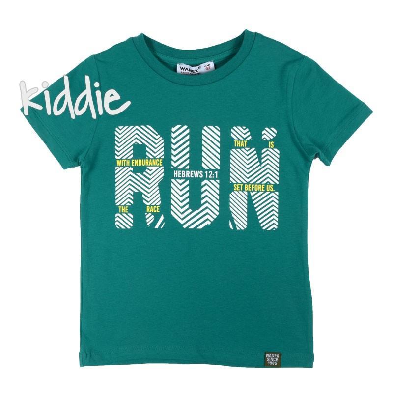 Детска тениска Run за момче Wanex
