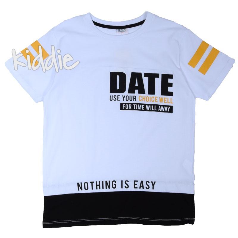 Детска тениска Busen Date за момче