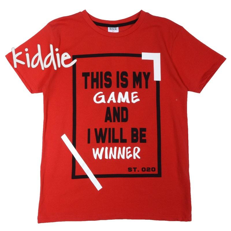 Детска тениска за момче This is my game, Busen