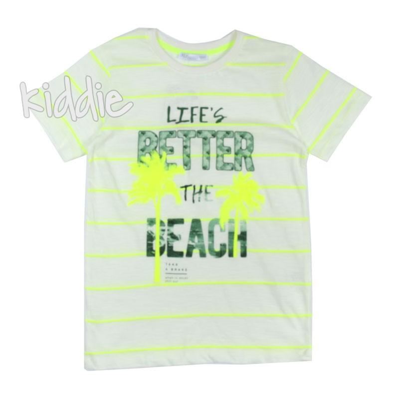 Детска тениска за момче Unsea