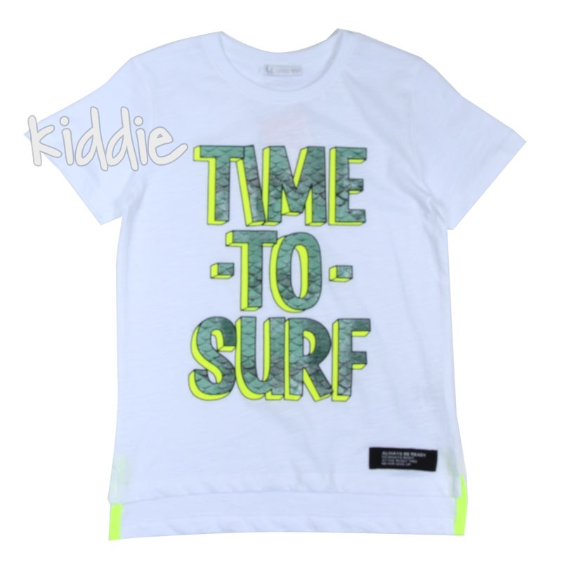 Детска тениска за момче Time, Unsea