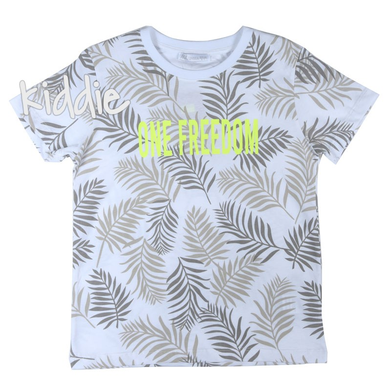 Детска тениска One Freedom N and K за момче
