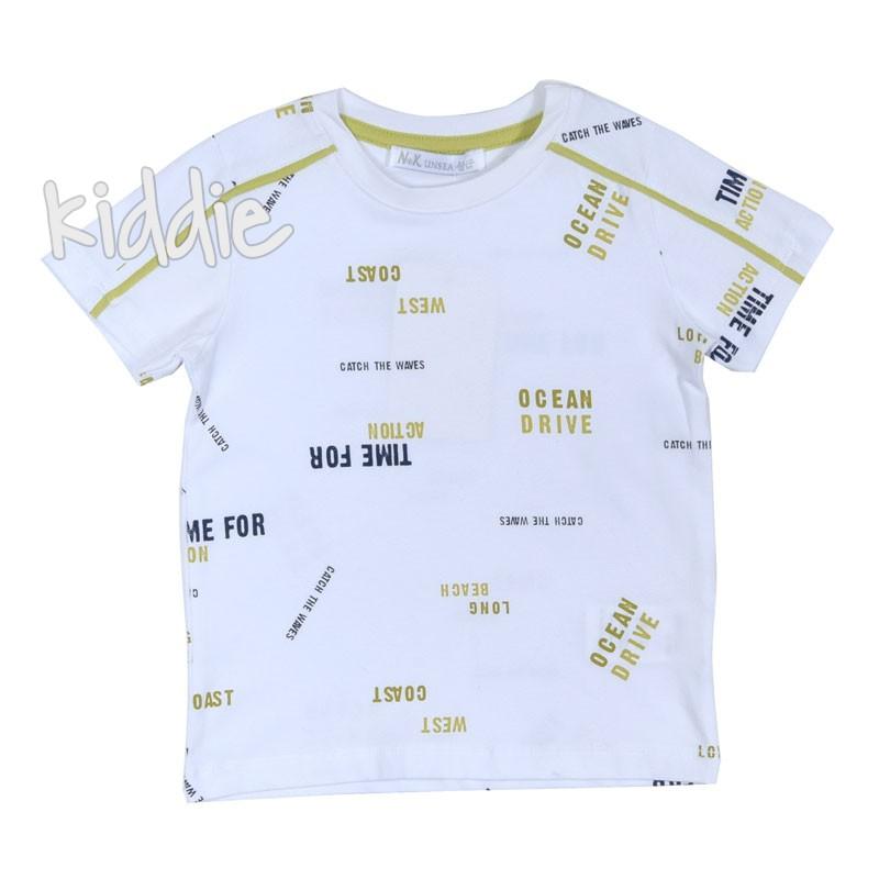 Детска тениска за момче Time for ocean, Unsea