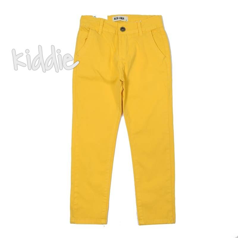 Детски панталон Alta Linea с джобове за момче