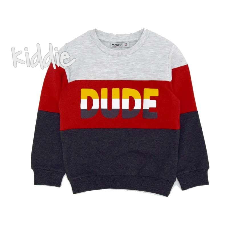 Детска блуза Dude Wanex за момче