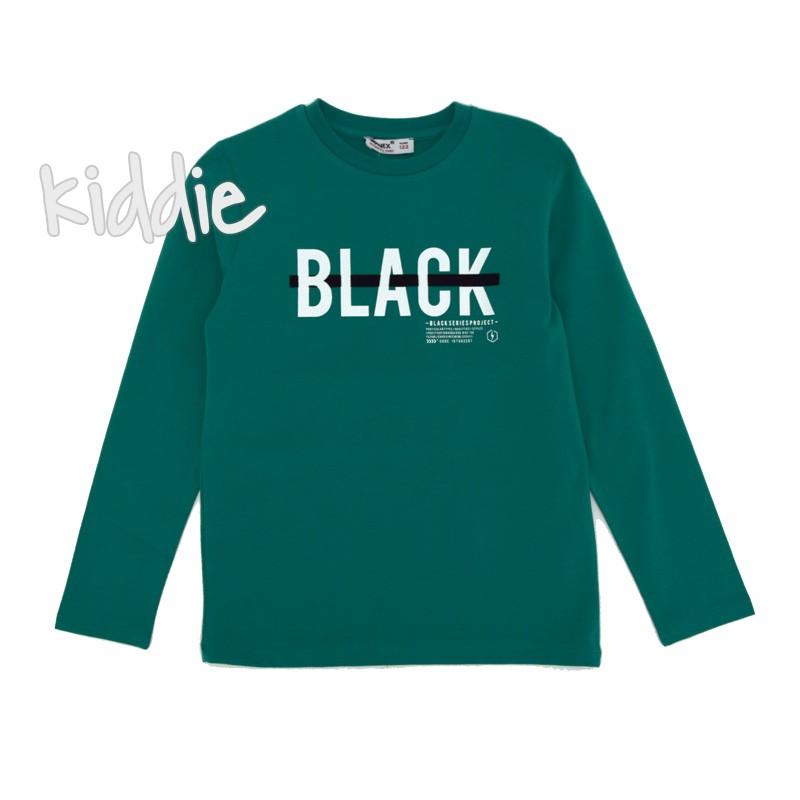 Детска блуза Wanex Black за момче