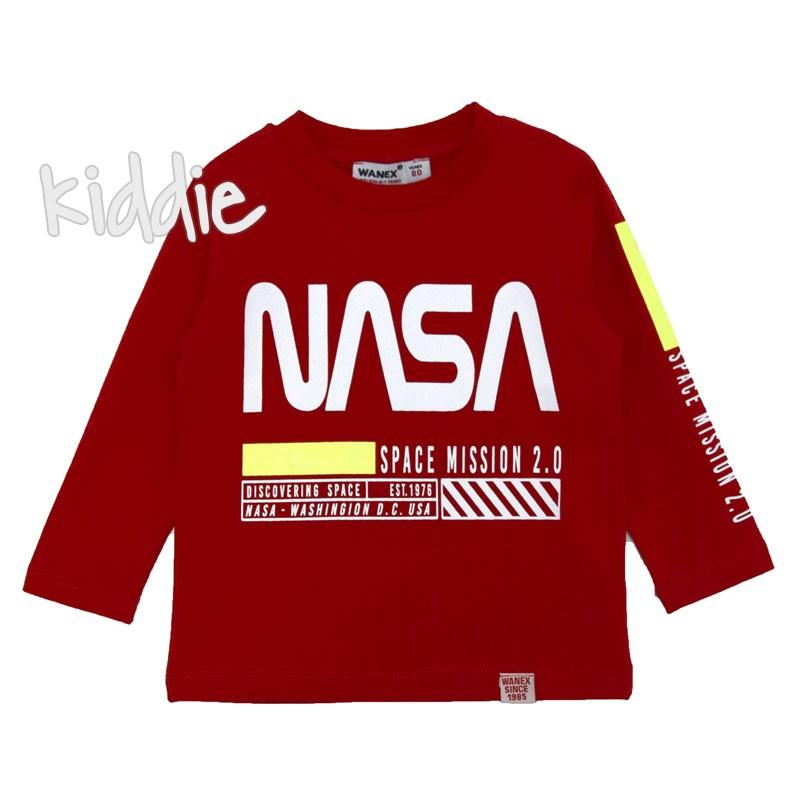 Детска блуза Wanex за момче NASA