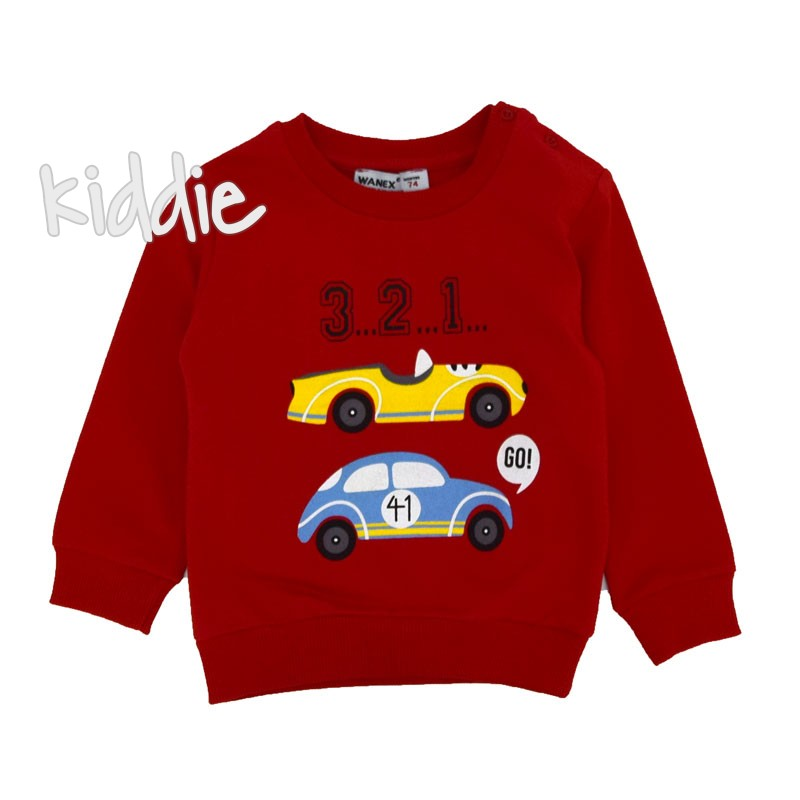 Детска блуза Wanex за момче 3..2..1