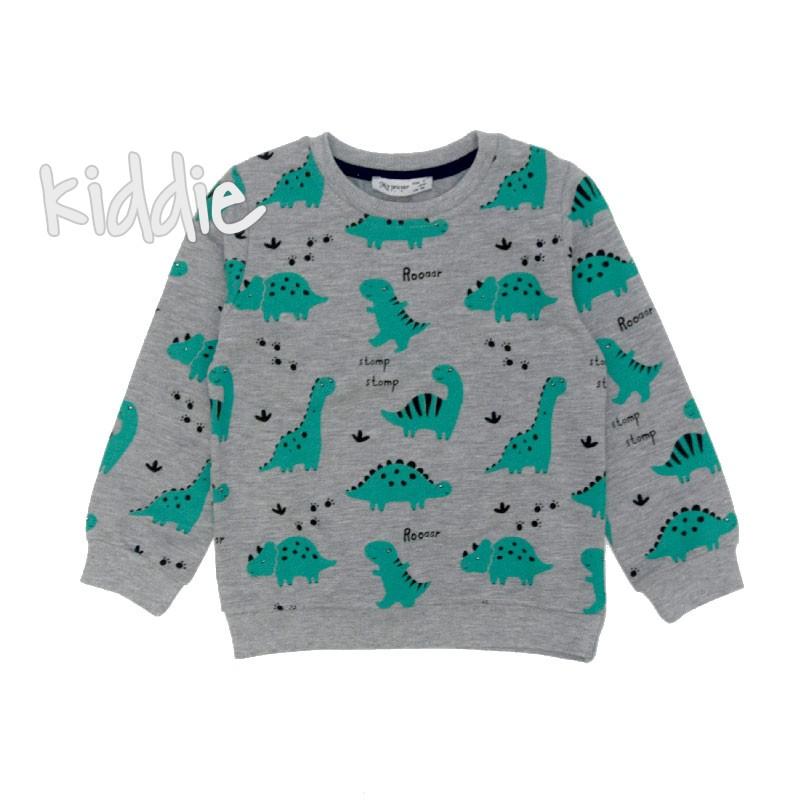 Детска блуза с динозаври My prayer за момче