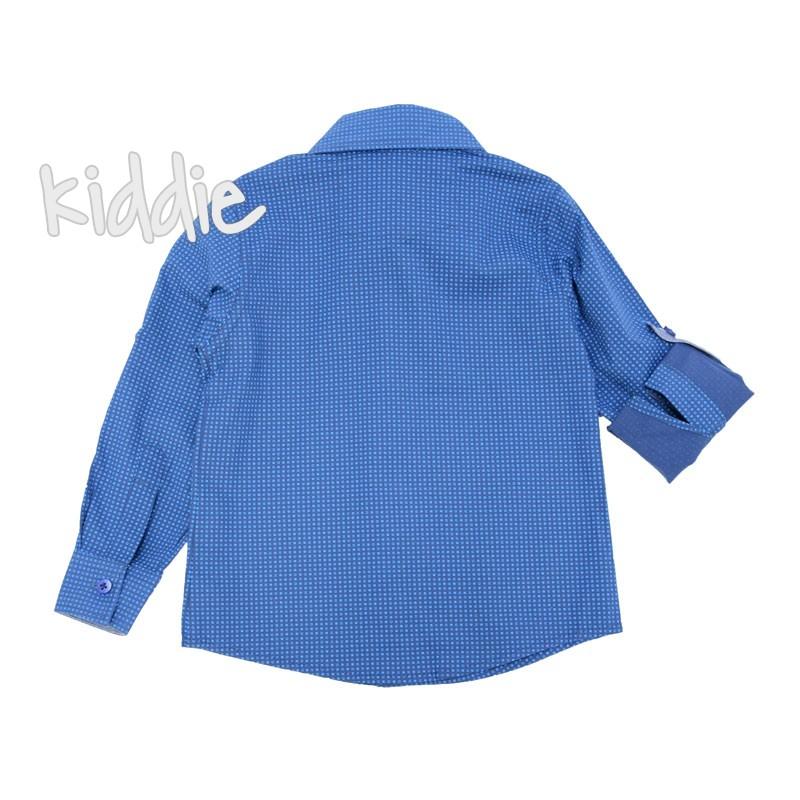 Детска риза за момче Breeze с дълъг ръкав