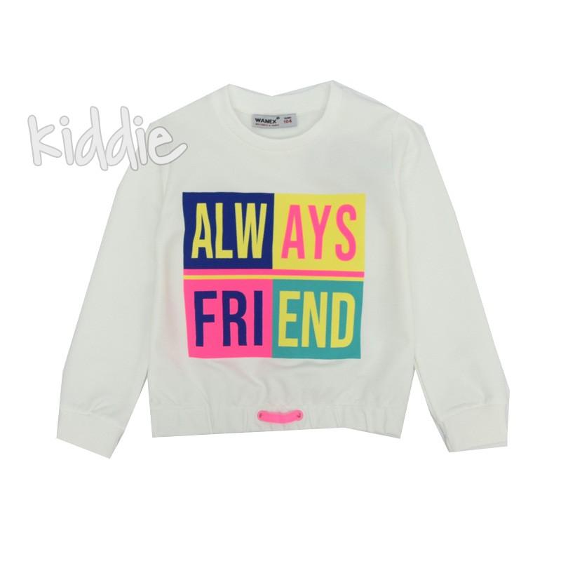 Детска блуза Wanex Always friend за момиче