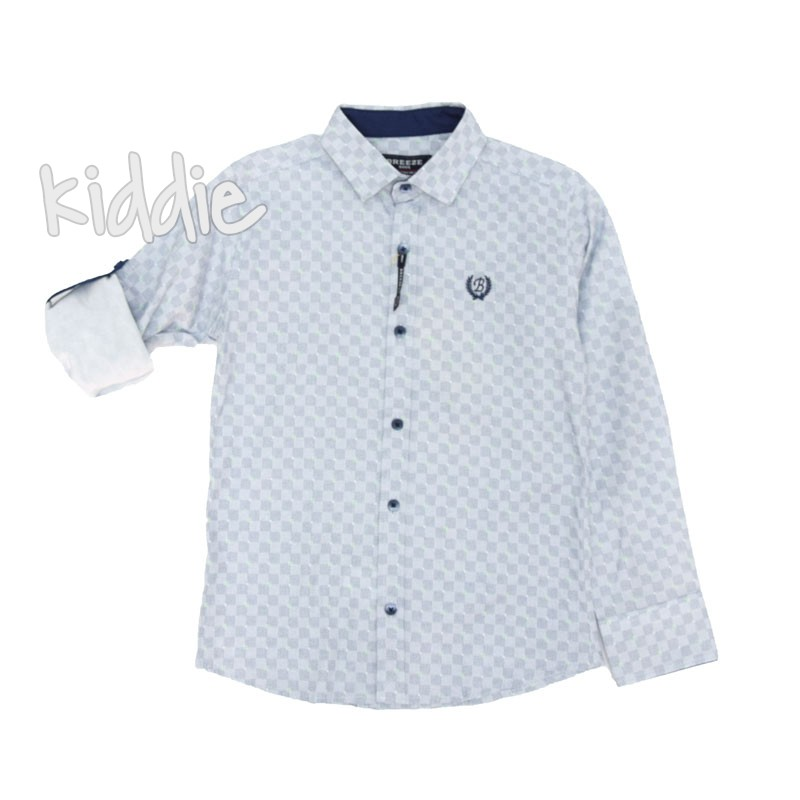 Детска риза каре Breeze