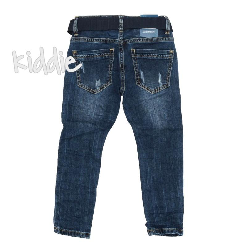 Детски дънки за момче с колан Bimbo style