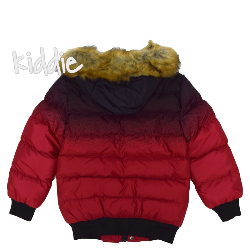 Детско зимно яке New Kids за момче с пръски на раменете