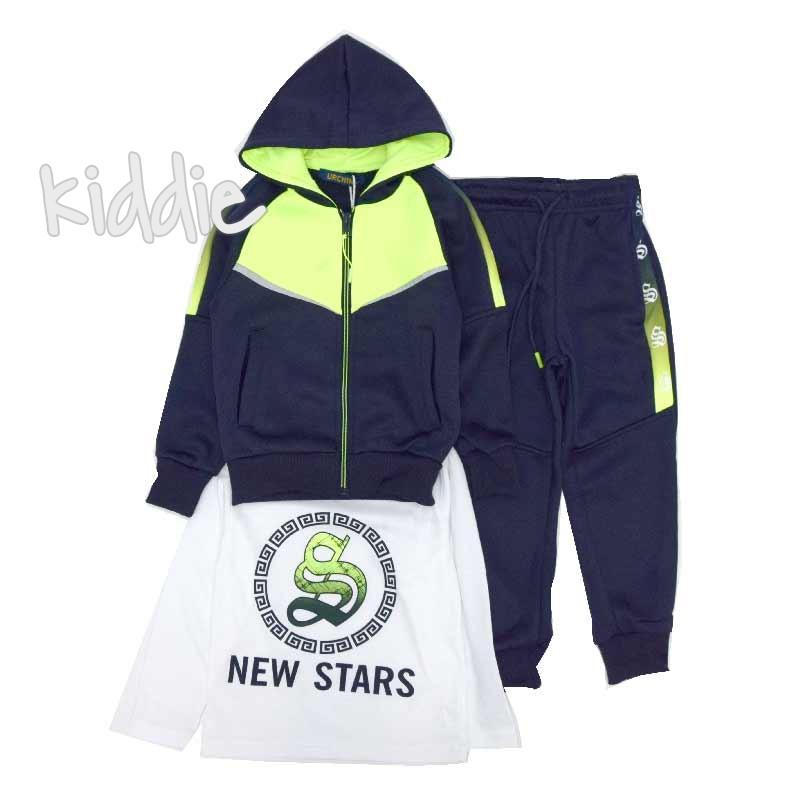 Детски спортен комплект New Stars Urchin за момче
