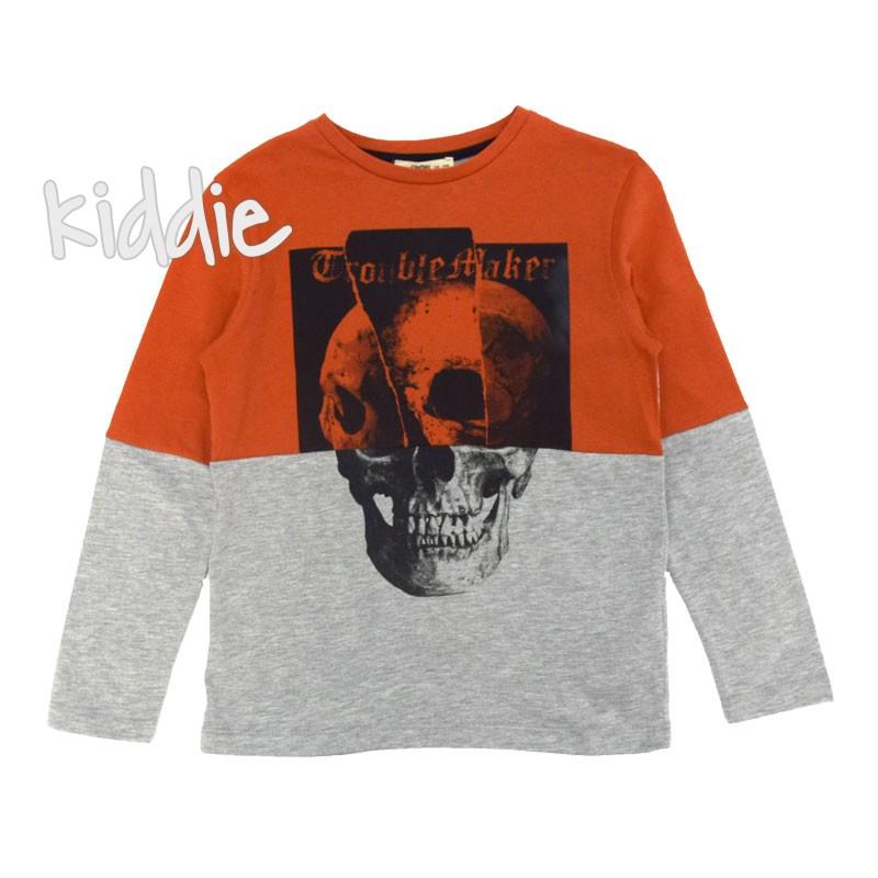 Детска блуза Cikoby с черепи за момче