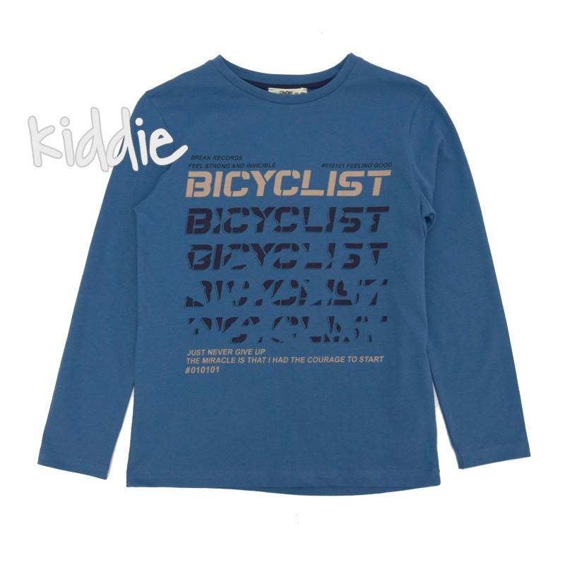 Детска блуза за момче Bicyclist Cikoby