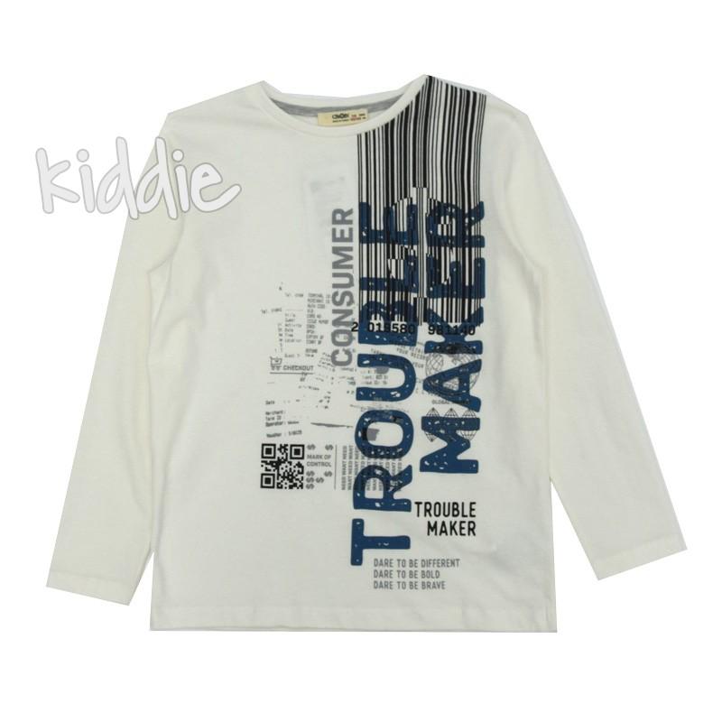 Детска блуза за момче Trouble Maker Cikoby