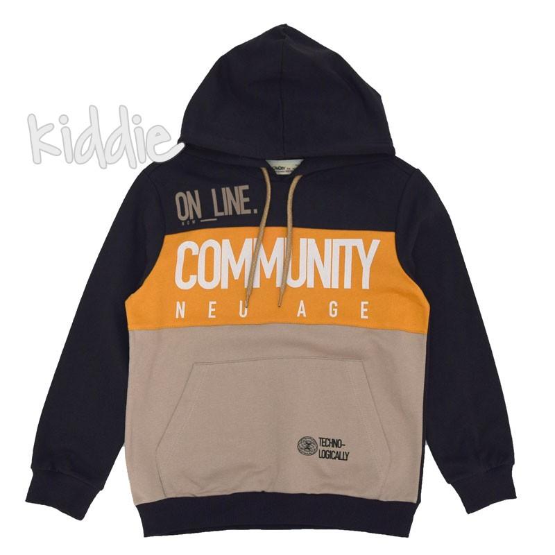 Детски блузон Cikoby Community за момче