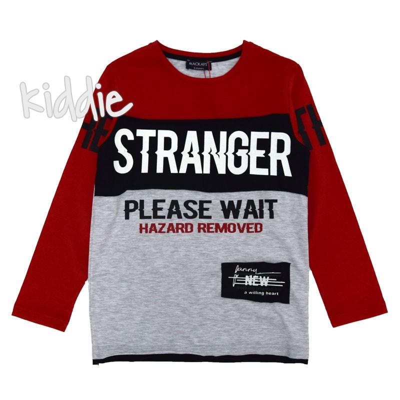 Детска блуза Mackays Stranger за момче