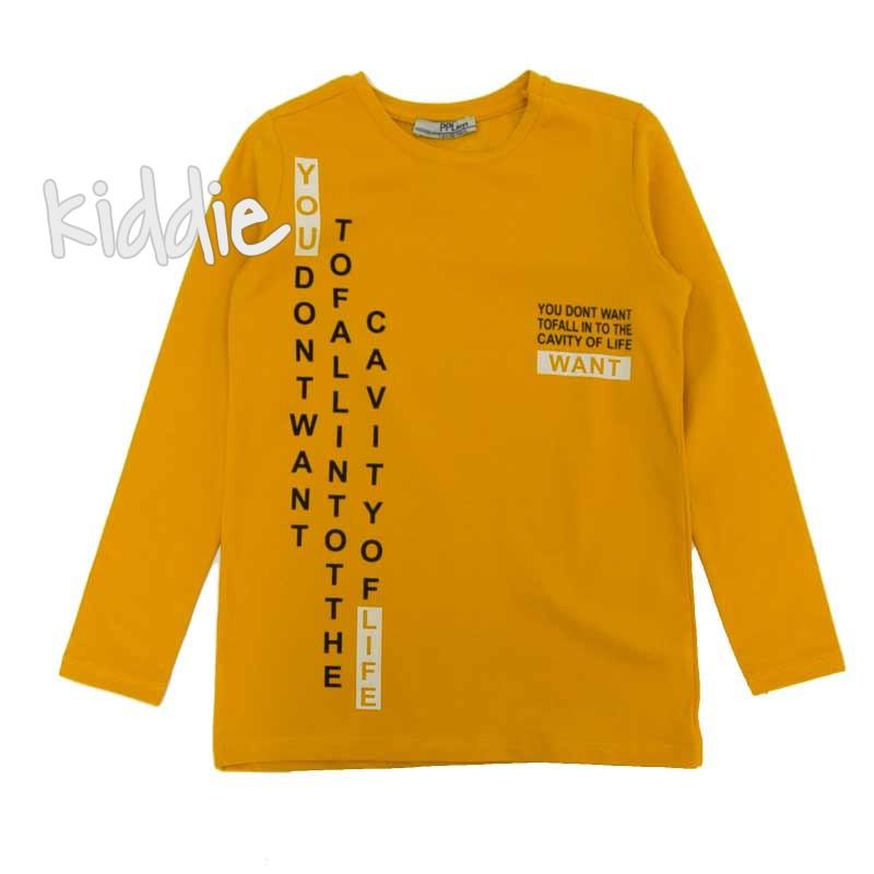 Детска блуза PPL boys с надписи