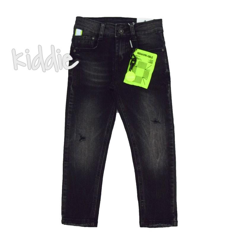 Детски дънки Alta Linea с емблема и джобове за момче