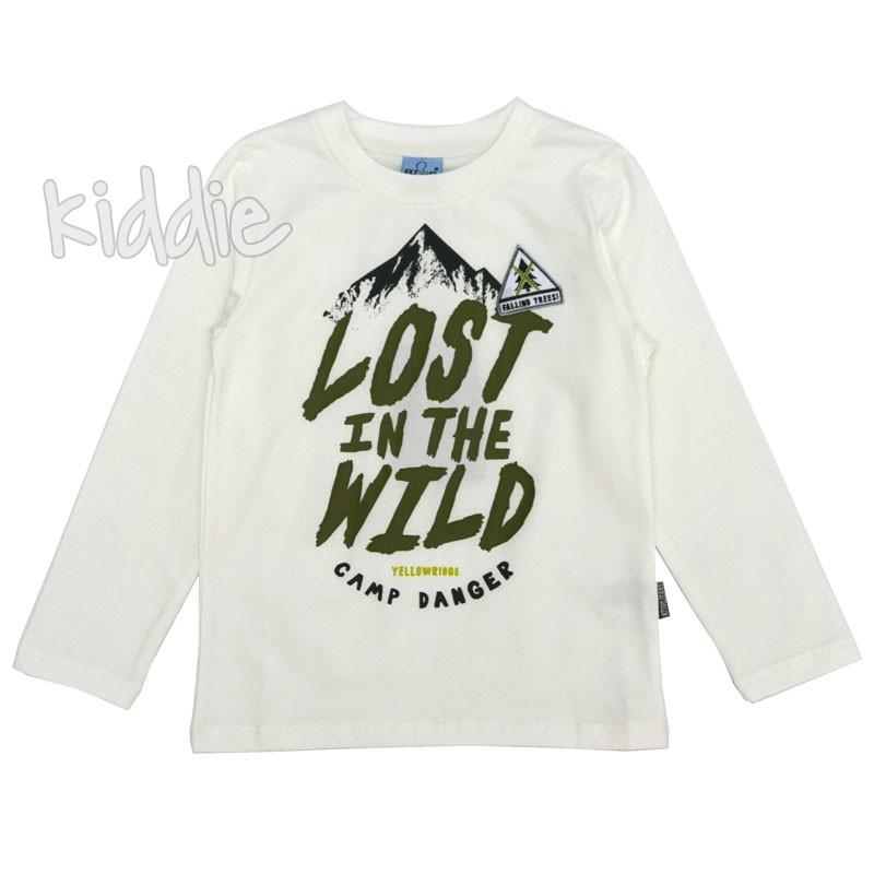 Детска блуза Lost in the wild за момче Ativo