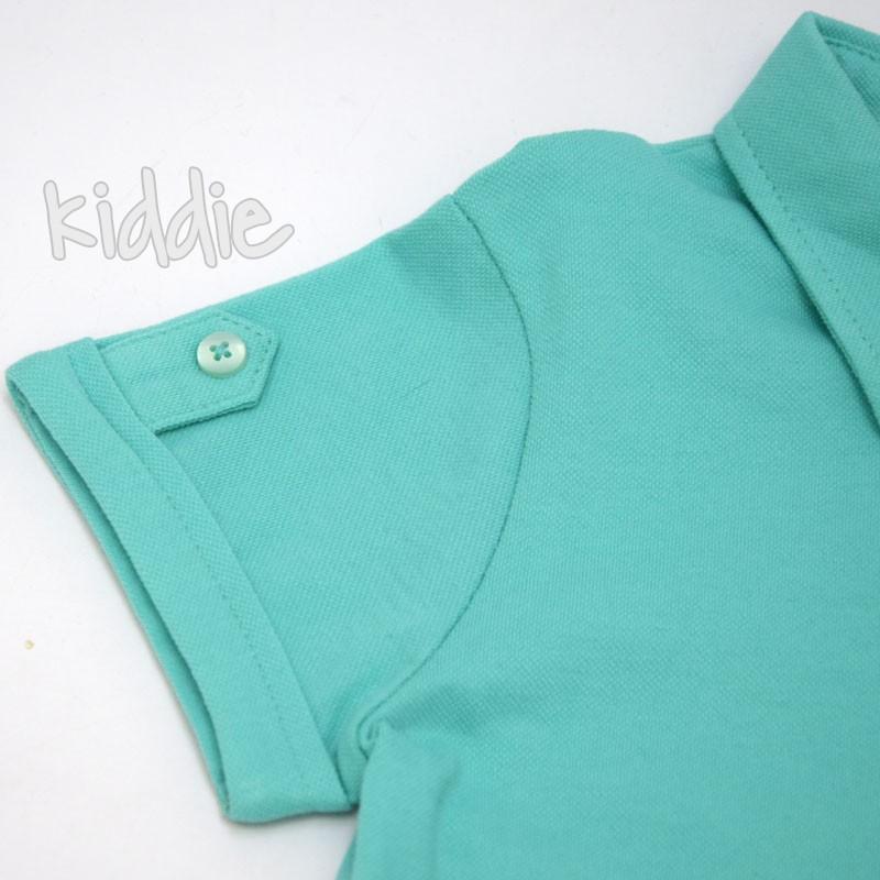 Детска поло блуза Mackays за момче с бродерия