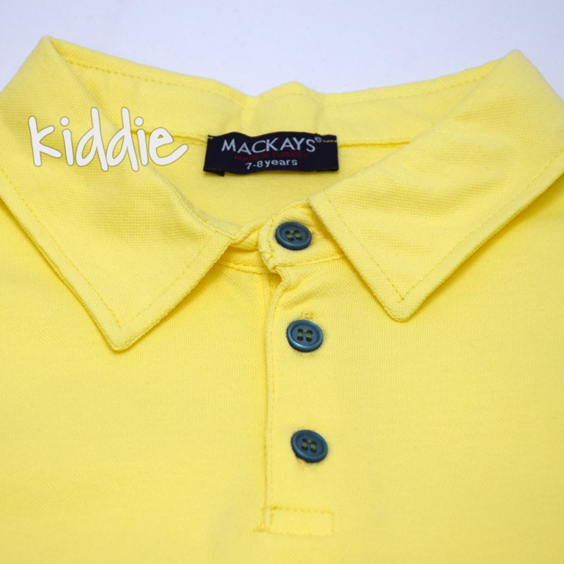 Детска поло блуза Mackays OF за момче