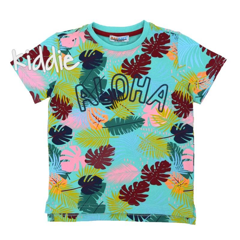 Детска тениска Mackays Aloha за момче