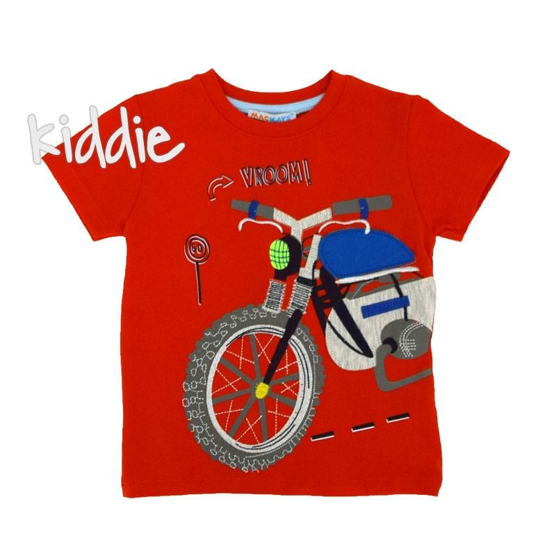 Детска тениска Mackays Vroom за момче