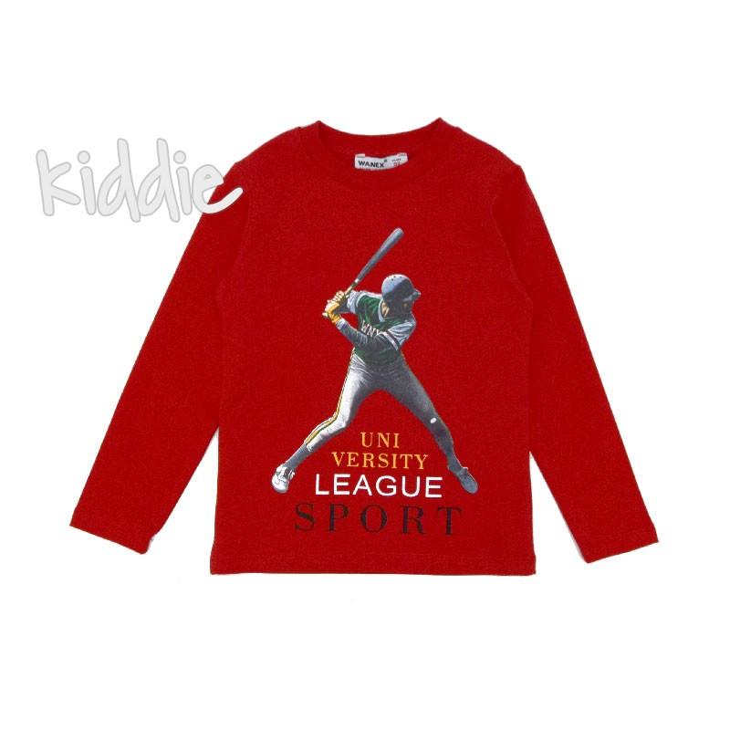 Детска блуза Sport Wanex за момче