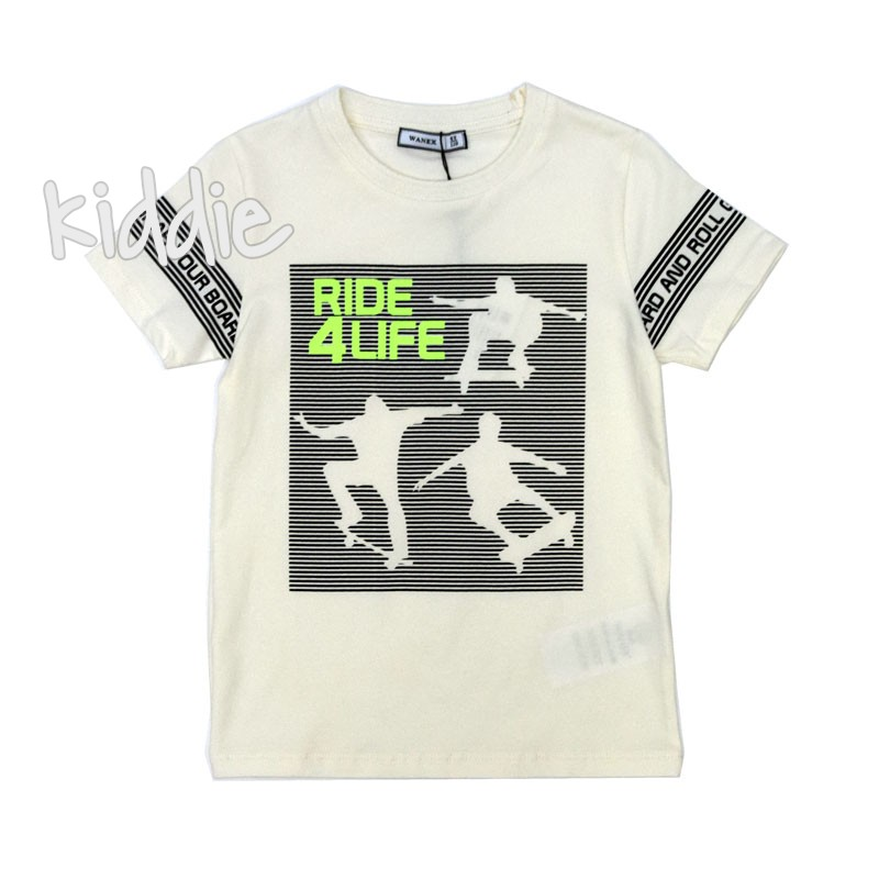 Детска тениска Ride 4 Life Wanex за момче