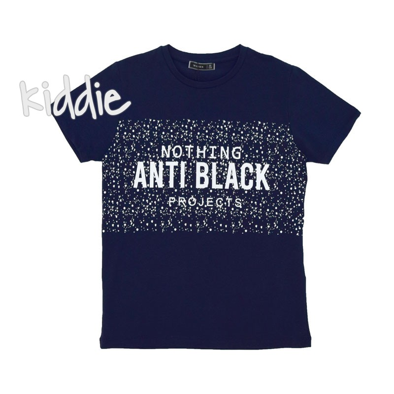 Детска тениска Anti Black Wanex за момче